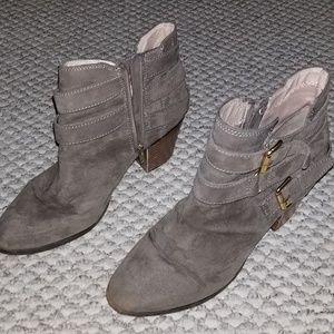 """Express Side Zip Boots - 2"""" heel"""